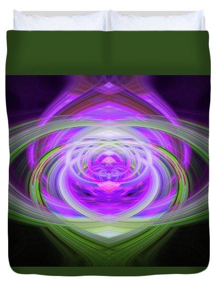 Light Abstract 3 Duvet Cover