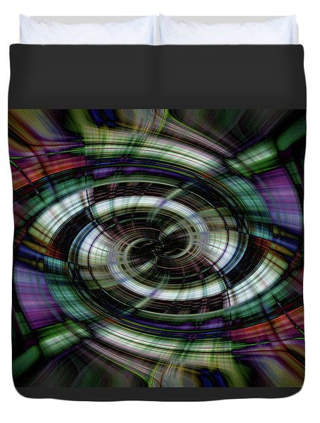 Light Abstract 6 Duvet Cover