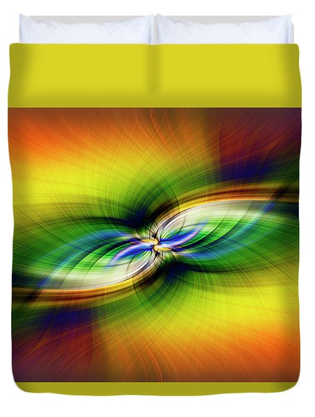 Light Abstract 9 Duvet Cover