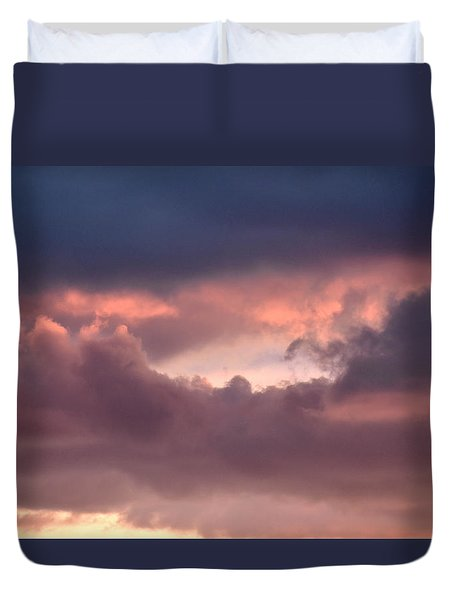 Light After Storm Duvet Cover