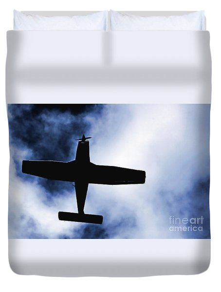 Duvet Cover featuring the photograph Light Aircraft by Craig B
