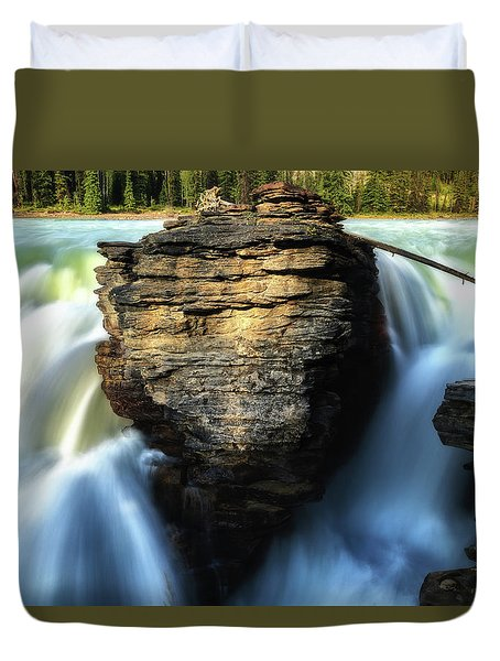Duvet Cover featuring the photograph Light And Movement by Rick Furmanek