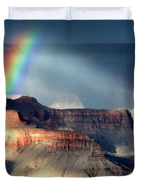 Light And Shadow 1 Duvet Cover