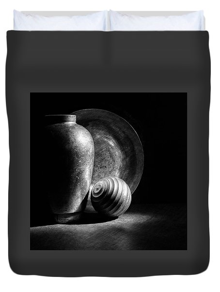 Light And Shadows Duvet Cover