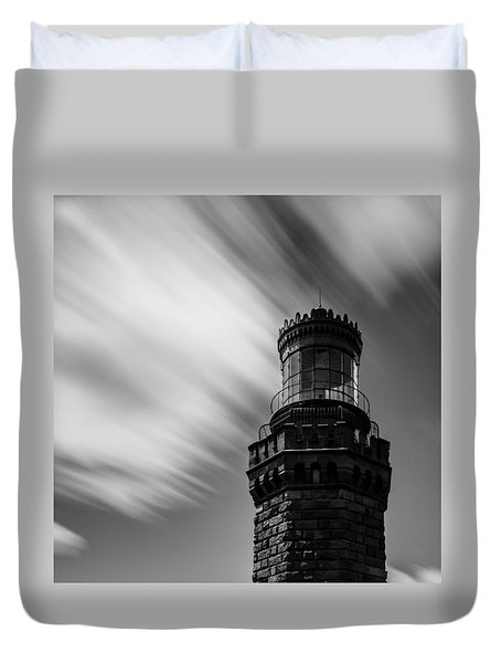 Light And Time Duvet Cover