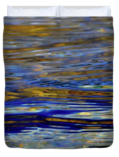 Light And Water  Duvet Cover