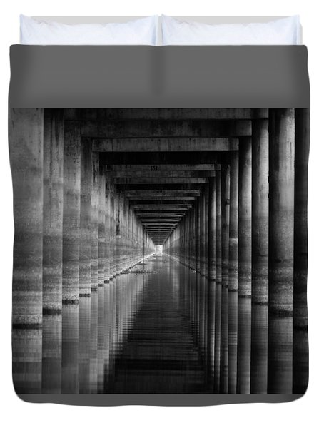 Light At The End Of The Tunnel Duvet Cover