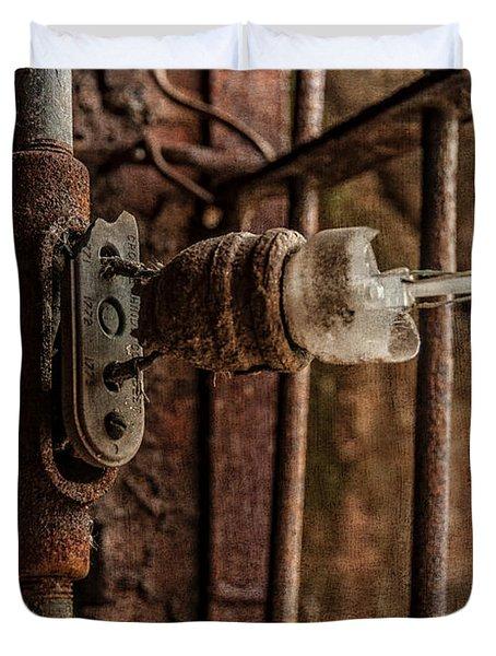light bulb Sloss Duvet Cover by Phillip Burrow