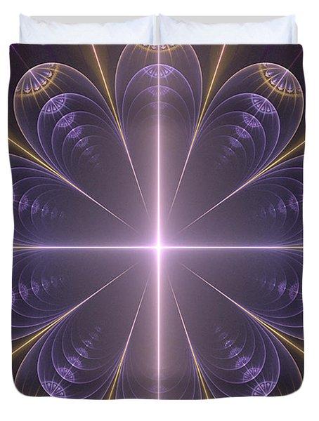 Light Connection Duvet Cover