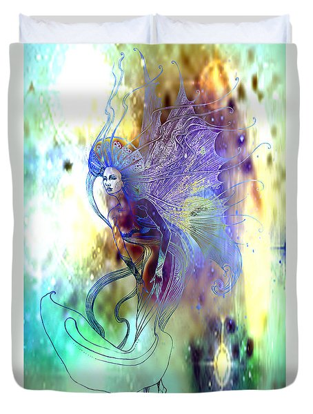 Light Dancer Duvet Cover