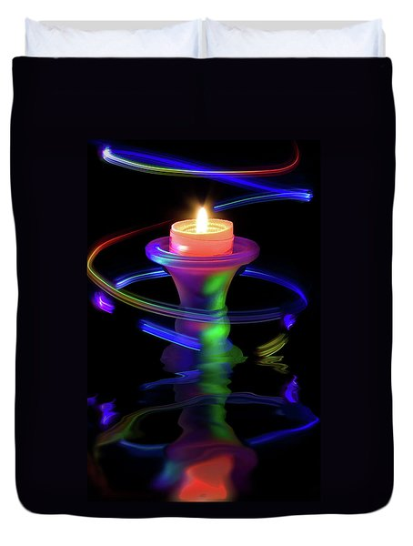 Light Display Duvet Cover