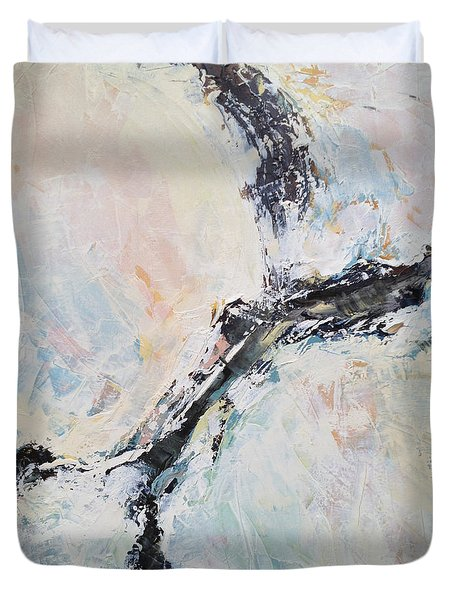 Light Eradicates Darkness Duvet Cover