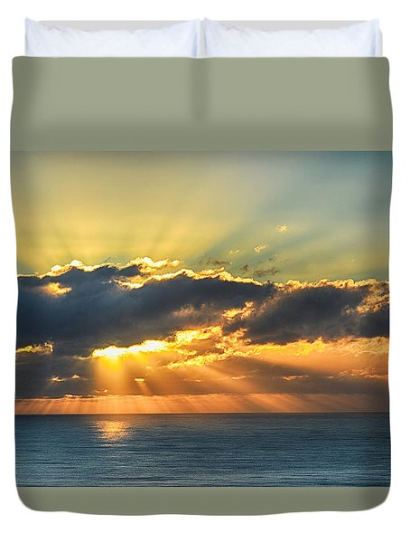 Light Explosion Duvet Cover
