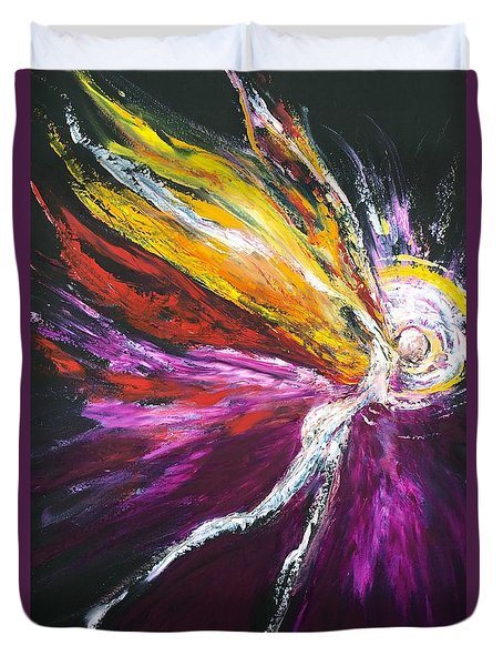 Light Fairy Duvet Cover by Marat Essex