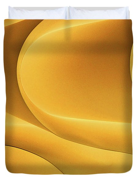 Light Form And Shadow Duvet Cover