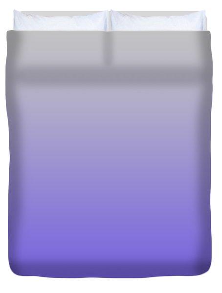 Light Gray Ombre Duvet Cover
