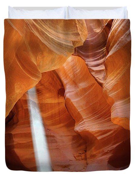 Light In Antelope Canyon Duvet Cover