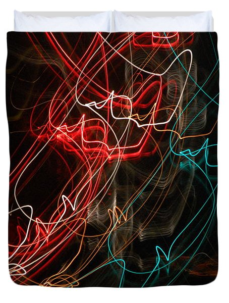 Light In Motion Duvet Cover by David Lane