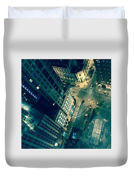 Light In The City 2 Duvet Cover