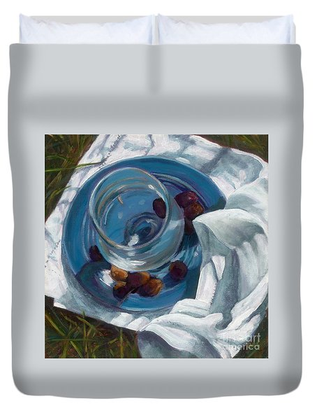 Light Lunch Duvet Cover