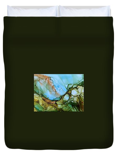 Light My Fire Duvet Cover by Pat Purdy
