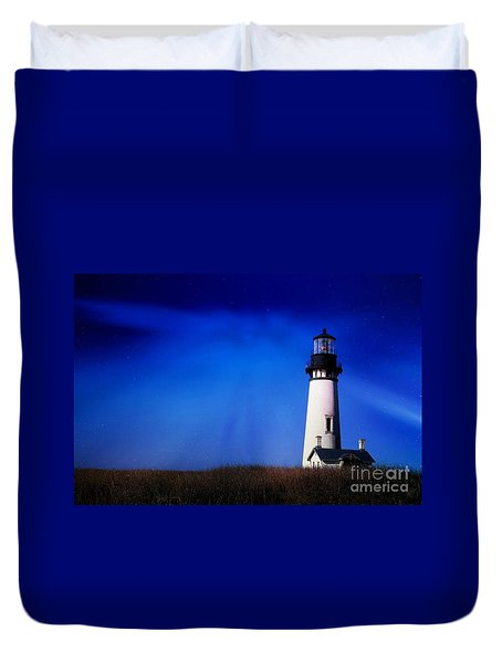 Light My Way Duvet Cover
