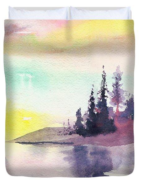 Light N River Duvet Cover