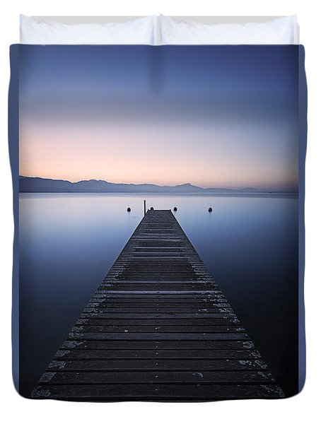Light Of Hope Duvet Cover