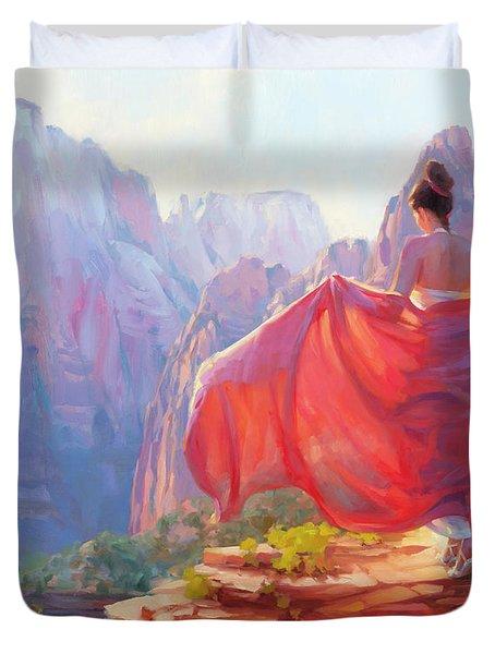Light Of Zion Duvet Cover