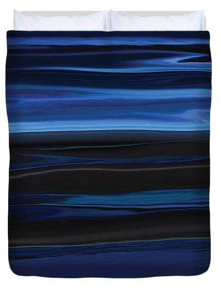 Light On The Horizon Duvet Cover