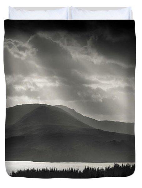 Light Over Loch Tulla Duvet Cover