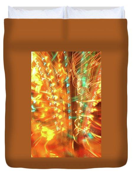 Light Painting 1 Duvet Cover