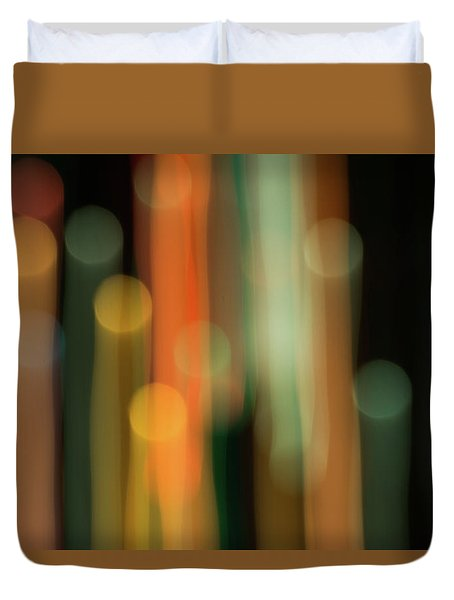 Light Painting No. 1 Duvet Cover