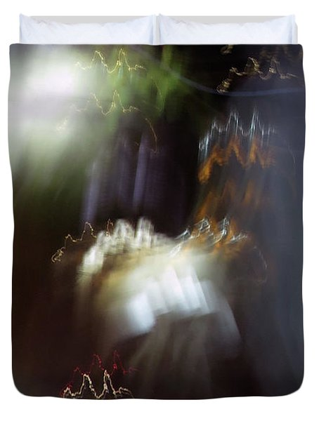Light Paintings - No 4 - Source Energy Duvet Cover