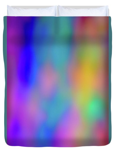 Light Painting No. 6 Duvet Cover