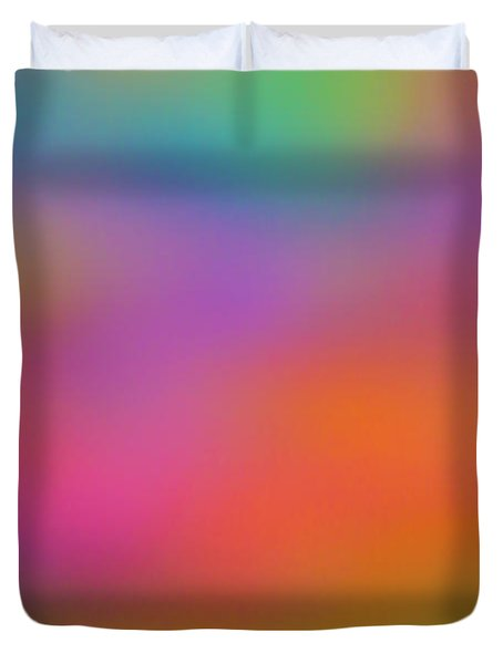 Light Painting No. 7 Duvet Cover