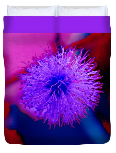 Light Purple Puff Explosion Duvet Cover