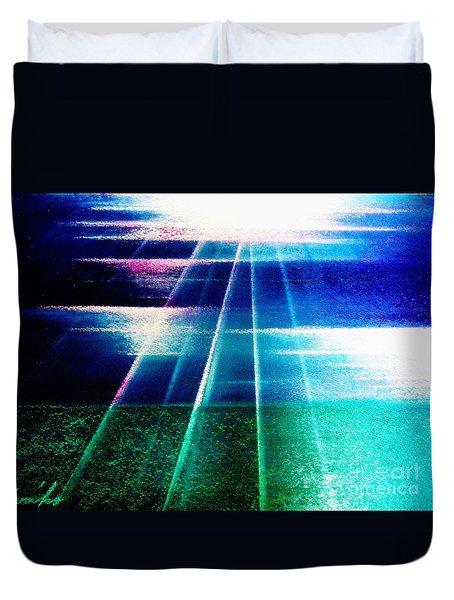 Light Sea Duvet Cover