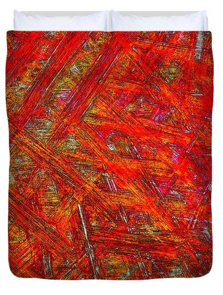 Light Sticks 2 Duvet Cover by Sami Tiainen