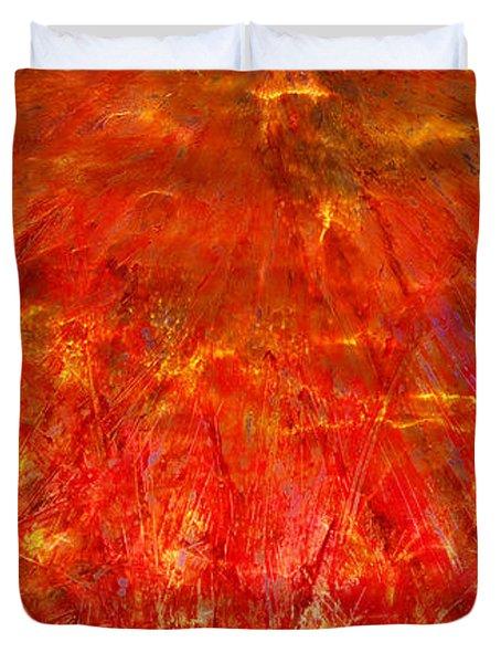 Light Storm Duvet Cover by Sami Tiainen