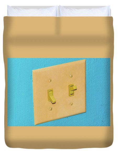 Light Switch Duvet Cover