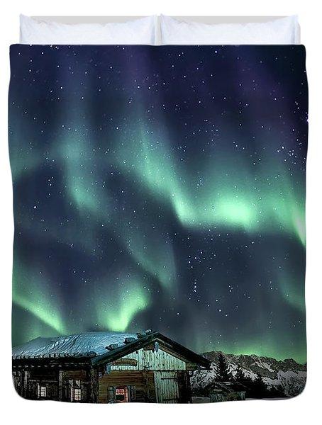 Light Through The Night Duvet Cover