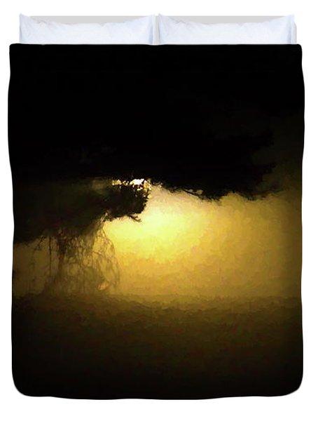 Light Through The Tree Duvet Cover