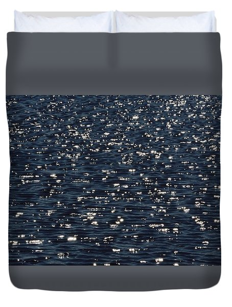 Light Waves #3 Duvet Cover