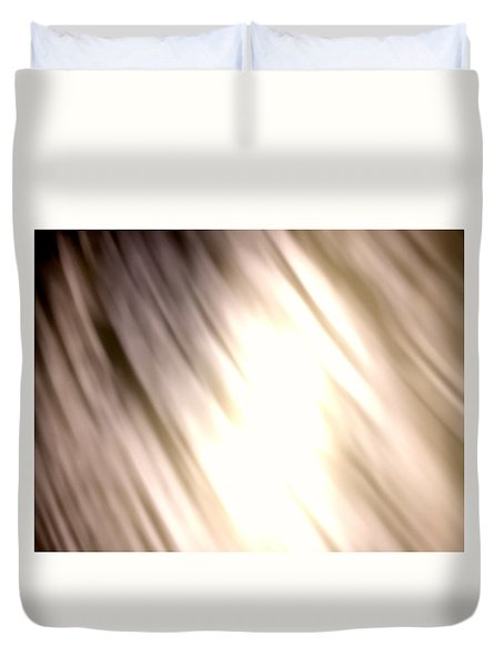Light Waves Duvet Cover