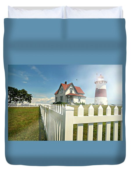 Light In Your Heart Duvet Cover