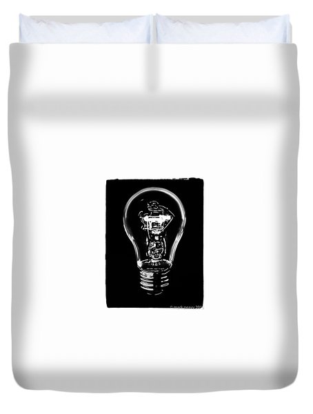 Lightbulb Duvet Cover