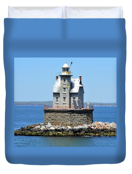 Lighthouse 2-c Duvet Cover