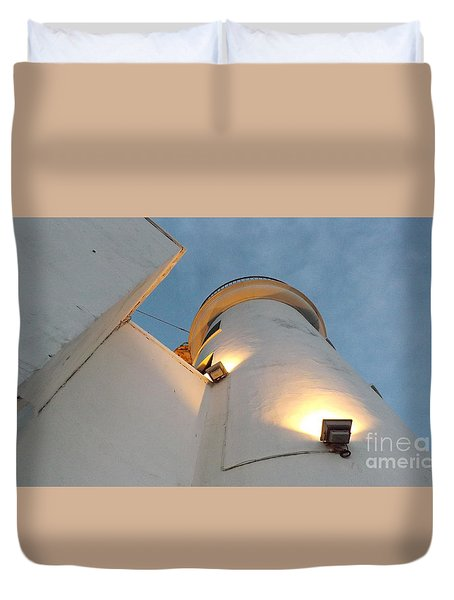 Scarborough Lighthouse Duvet Cover