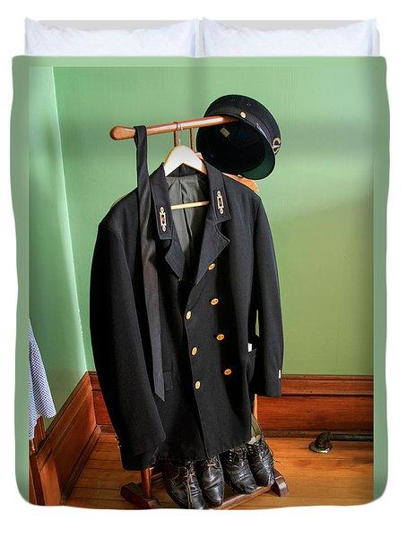 Lighthouse Keeper Uniform Duvet Cover